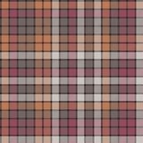 Mosaic check plaid fabric texture seamless pattern. Flat design. Vector illustration Royalty Free Stock Photo