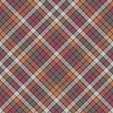 Mosaic check plaid fabric texture seamless pattern. Flat design. Vector illustration Royalty Free Stock Images