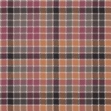 Mosaic check plaid pixel fabric texture seamless pattern. Flat design. Vector illustration Royalty Free Stock Photography