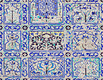 Mosaic in Chini Ka Rauza, India Stock Photo