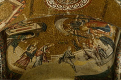 Mosaic in Chora Church in Istanbul Royalty Free Stock Images