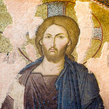 Mosaic of Christ Pantocrator royalty free stock photography
