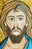 Mosaic: Christ,s face Royalty Free Stock Image