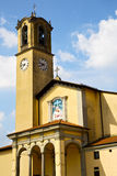 Mosaic church albizzate varese italy the old wall Royalty Free Stock Image