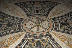 Mosaic in the Church of All Nations, Jerusalem, Israel Royalty Free Stock Images