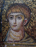 Mosaic  in Church of Hosios David, Thessaloniki, Greece Royalty Free Stock Photography