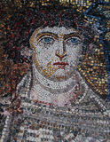 Mosaic  in Church of Hosios David, Thessaloniki, Greece Royalty Free Stock Photos