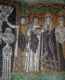 Mosaic  in Church of Hosios David, Thessaloniki, Greece Royalty Free Stock Photo