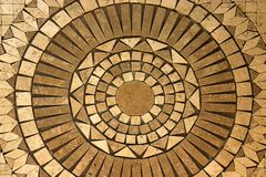 Mosaic circle Stock Photo