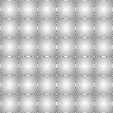 Mosaic of circles repeatable pattern - seamless background. Royalty free vector illustration Stock Images