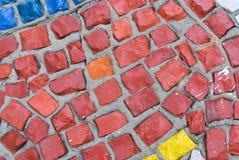 Mosaic close up Royalty Free Stock Image