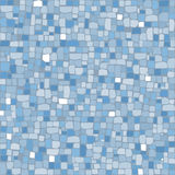 Mosaic in cold colors Royalty Free Stock Photography