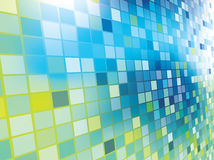 Mosaic color illustration design Stock Photography