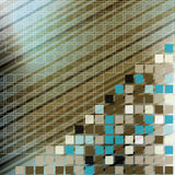 Mosaic color illustration design Royalty Free Stock Image