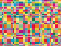 Mosaic color matrix squares Royalty Free Stock Images