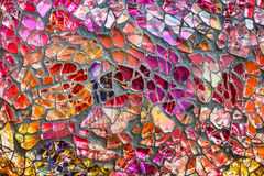 Mosaic of colored glass Royalty Free Stock Photography