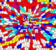 Mosaic of colored stones Royalty Free Stock Photo