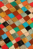 Mosaic. Colored tiles, compound with each others.(Mosaic stock photography