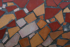 Mosaic of colored tiles Stock Images