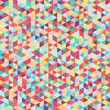 Mosaic colorful background of geometric shapes. Royalty Free Stock Photography