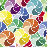 Mosaic of colorful circles Royalty Free Stock Photos