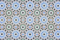Mosaic. Colourful seamless tileable oriental background Stock Photo