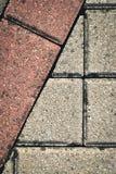 Mosaic concrete bricks Stock Photo