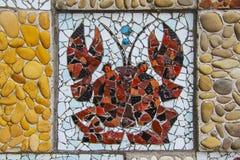Mosaic Crab Royalty Free Stock Photos
