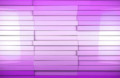 Mosaic cubes background. Abstract cubes background in purple toned Stock Illustration