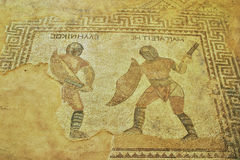 Mosaic in Cyprus Stock Image