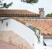 Mosaic decor Royalty Free Stock Image