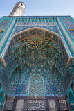 Mosaic Decoration of Entrance to Mosque in St Petersburg Stock Photography
