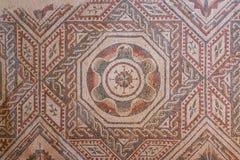 Mosaic decoration of the ruins of ancient Villa Romana del Casale Stock Photography