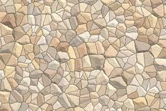 Mosaic decorative stones background. Bathroom and kitchen interior. Abstract ornamental pattern.  vector illustration