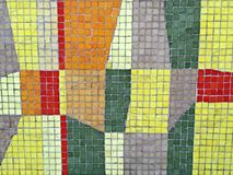Mosaic. Decorative tile pattern royalty free stock photo