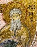 Mosaic of the Desert Father Arsenius stock photo