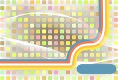 Mosaic design Royalty Free Stock Image