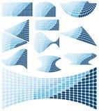 Mosaic design elements Stock Image