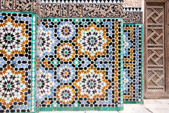 Mosaic detail architecture Stock Images