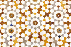 Mosaic detail texture of colored stones in marble stock photos