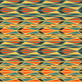 Mosaic dynamic. Bright seamless patterns. Minimalism. Stripes Royalty Free Stock Image