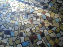 Mosaic entry royalty free stock photo