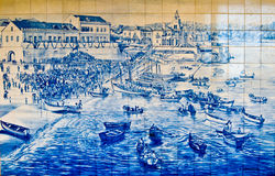 Mosaic of Estoril Stock Photography