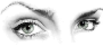 Mosaic_eyes Lizenzfreie Stockbilder