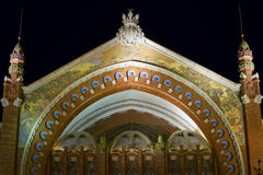 Mosaic facade Royalty Free Stock Photo