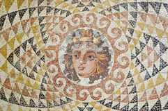 Mosaic with face Royalty Free Stock Photo