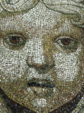 Mosaic face Royalty Free Stock Photo