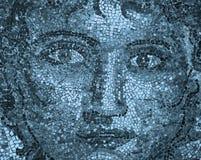 Mosaic face Stock Photography