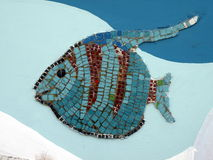Mosaic fish Royalty Free Stock Images