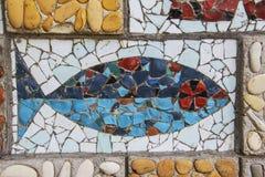 Mosaic fish Royalty Free Stock Photos